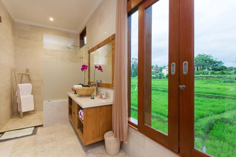 Private villas with pool for luxury vacations in Bali - Champaca Villa Ubud