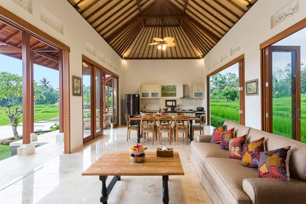 Private holiday villa with pool for rent in Bali - Champaca Villa Ubud