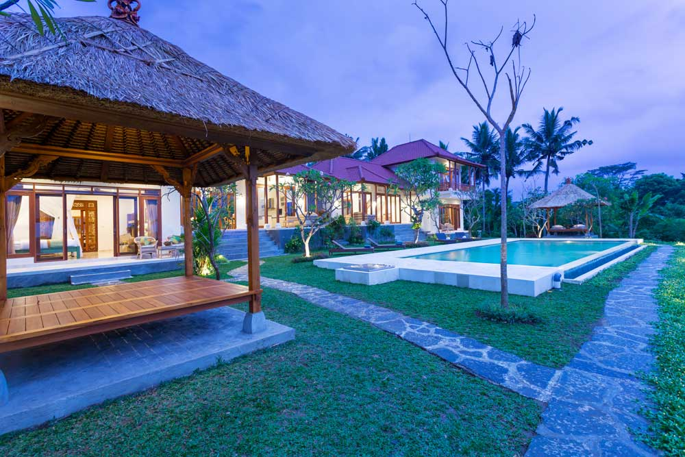 Private holiday homes for luxury vacations in Bali - Champaca Villa Ubud